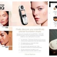 Le scanner de peau Sephora : x Pantone Color IQ
