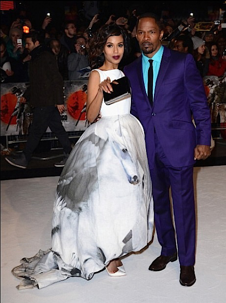 Kerry-Washington-and-Jamie-Foxx-Django-London-Premiere-4