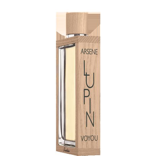 Guerlain Arsène Lupin Voyou. Piqué d'armoise, coriandre et de baies, de bois de santal, et benjoin.