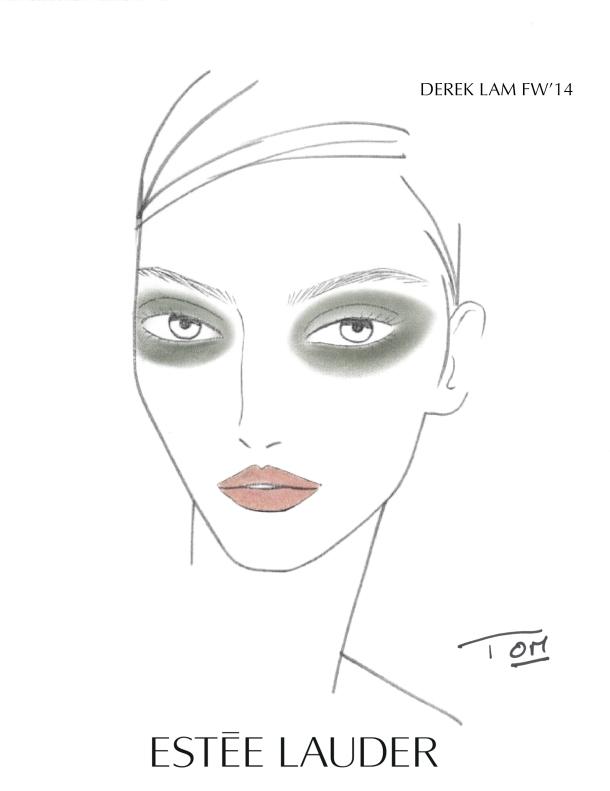 Maquillage : Tom Pecheux pour Estée Lauder