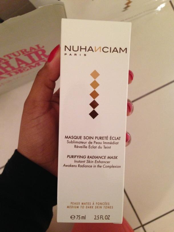 Nuhanciam avec le Masque Soin Pureté Éclat 19€