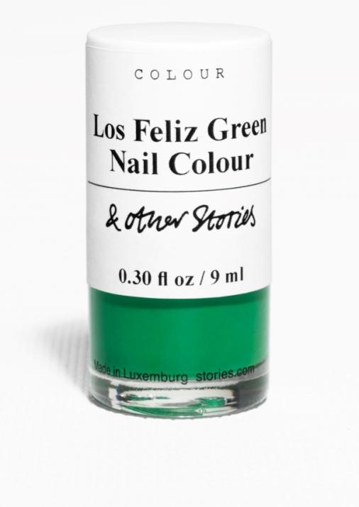 Vernis à ongles teinte « Los Feliz Green », & Other Stories, 7€